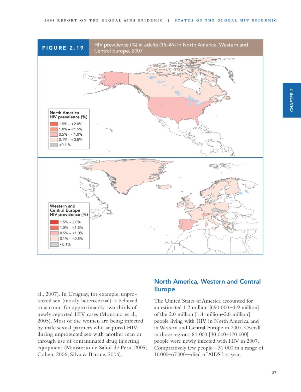 Unprotected heterosexual hiv rates