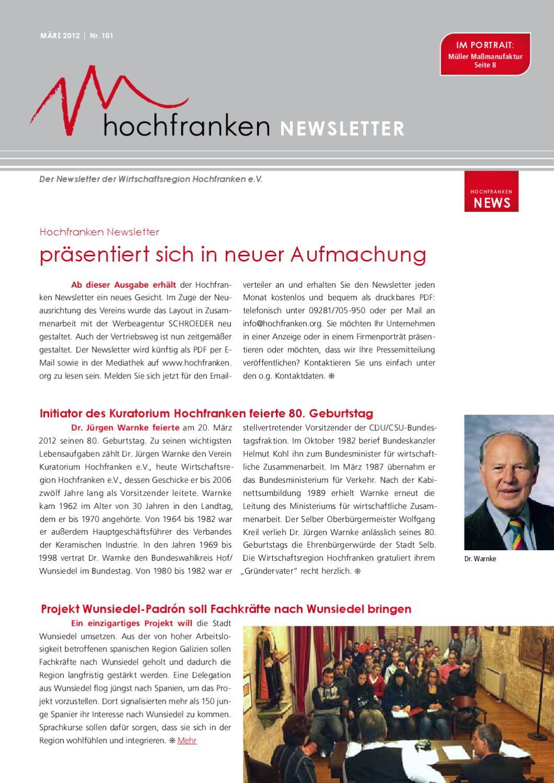 Wirtschaftsregion Hochfranken