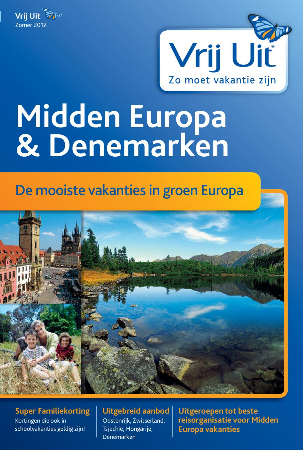 Vrij Uit Midden Europa Zomer 2012 by Thomas Cook - issuu