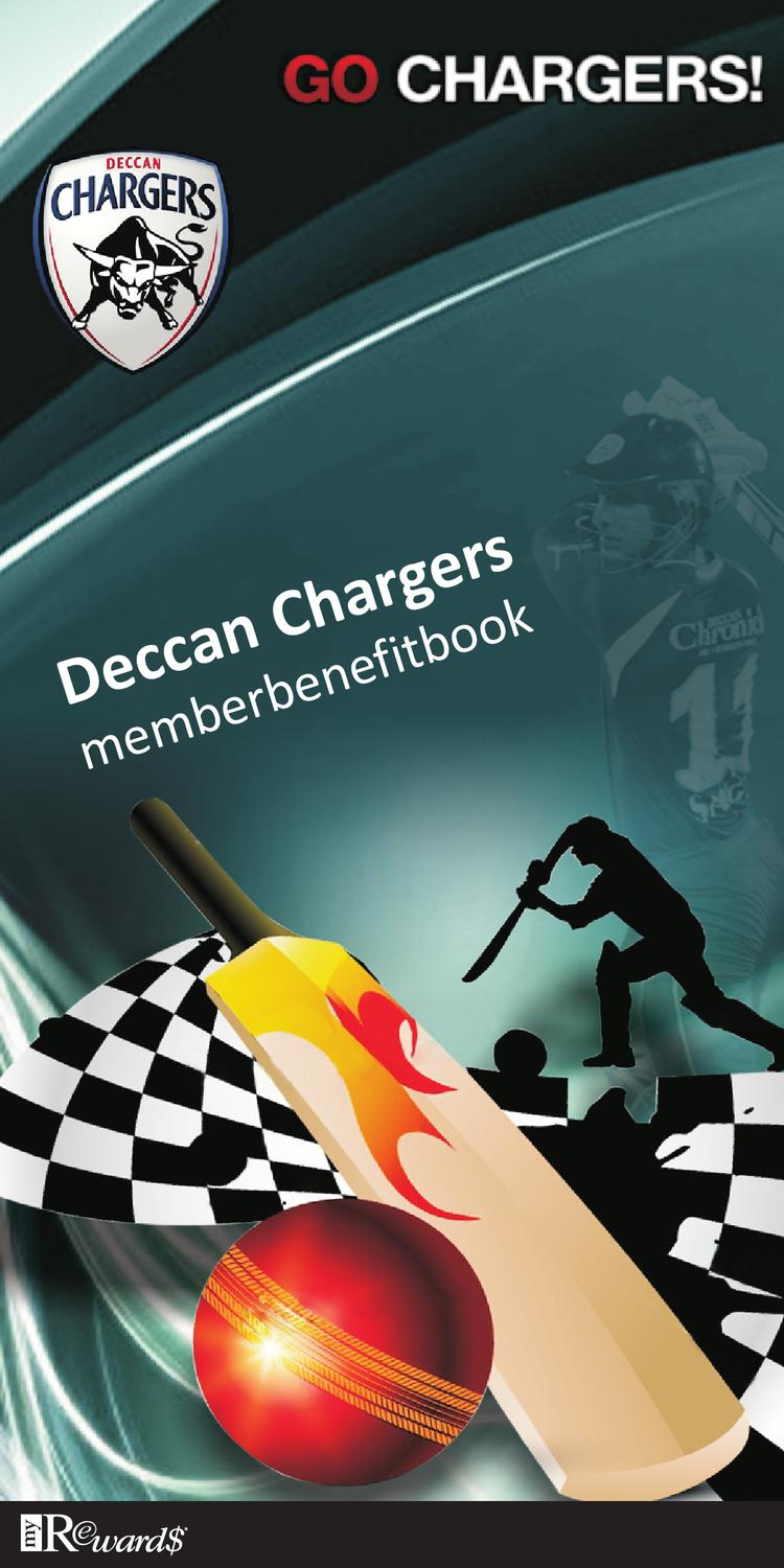 Deccan Chargers Member Benefit Book by MyRewards India - issuu