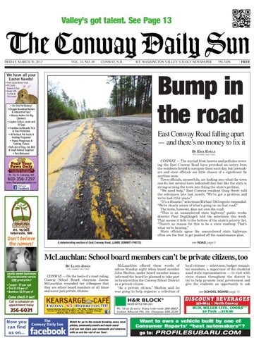 The conway daily sun friday april 29 2011 by daily sun issuu the conway daily sun friday march 30 2012 fandeluxe Image collections