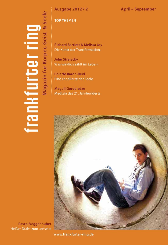 Frankfurter Ring Magazin 2/2012 by Frankfurter Ring e.V. - issuu