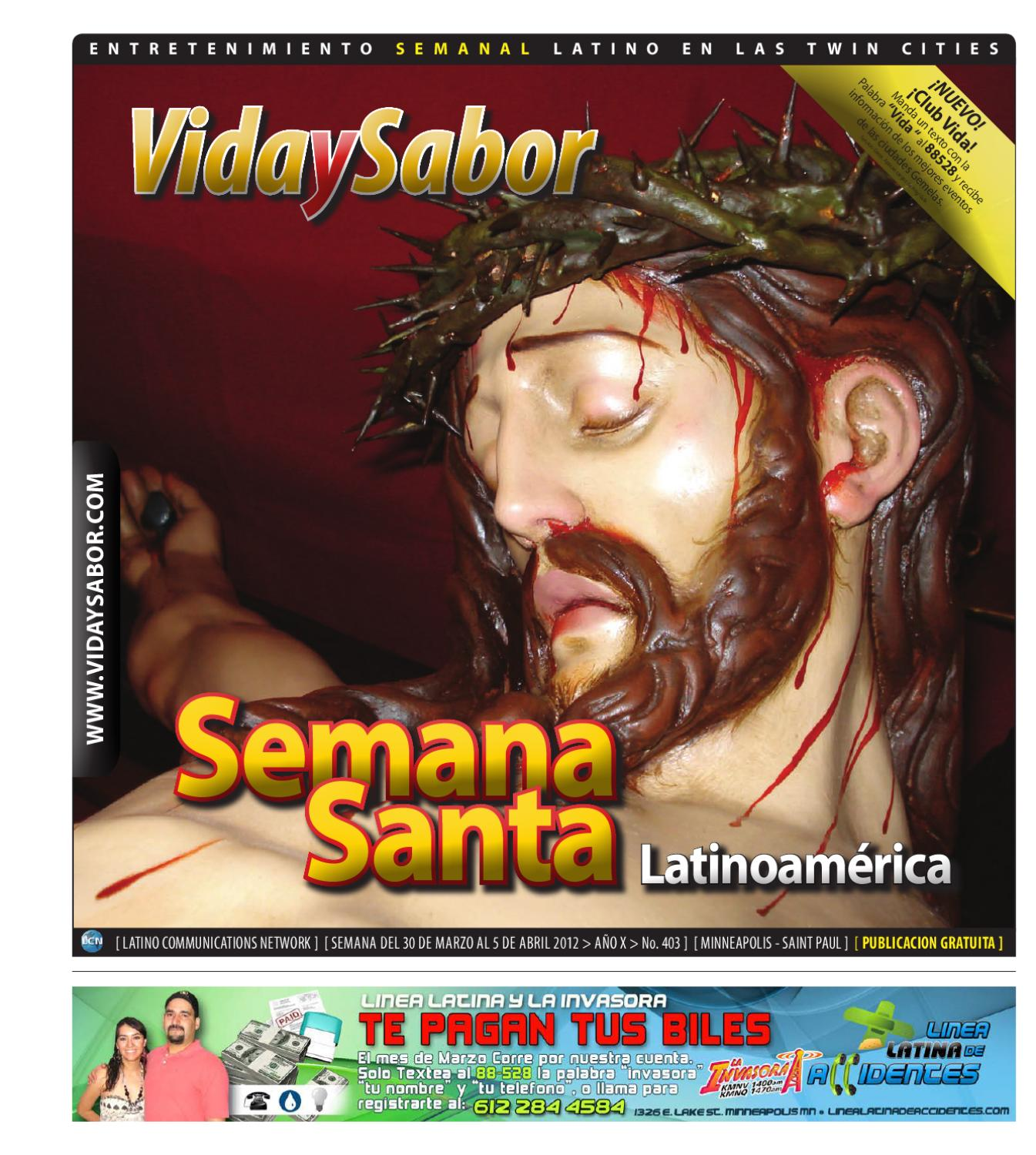 Vida y Sabor - 403 by Latino Communications Network LLC - issuu
