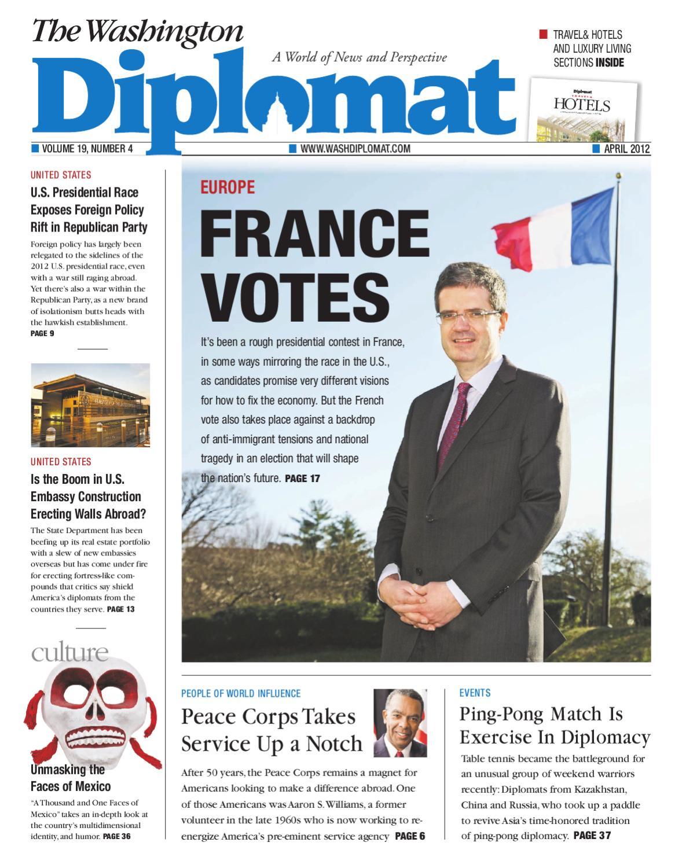 e0a64e3027 April 2012 by The Washington Diplomat - issuu