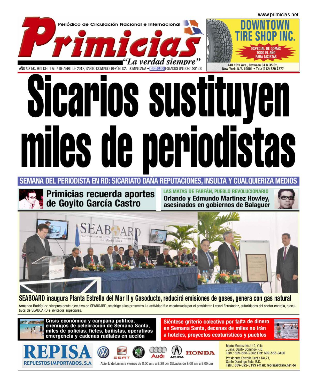 Primicias 961 By Primicias Periodico Issuu