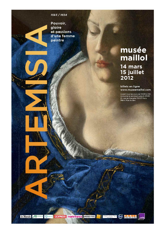 Dossier De Presse En Anglais De Artemisia 1593 A 1654 By