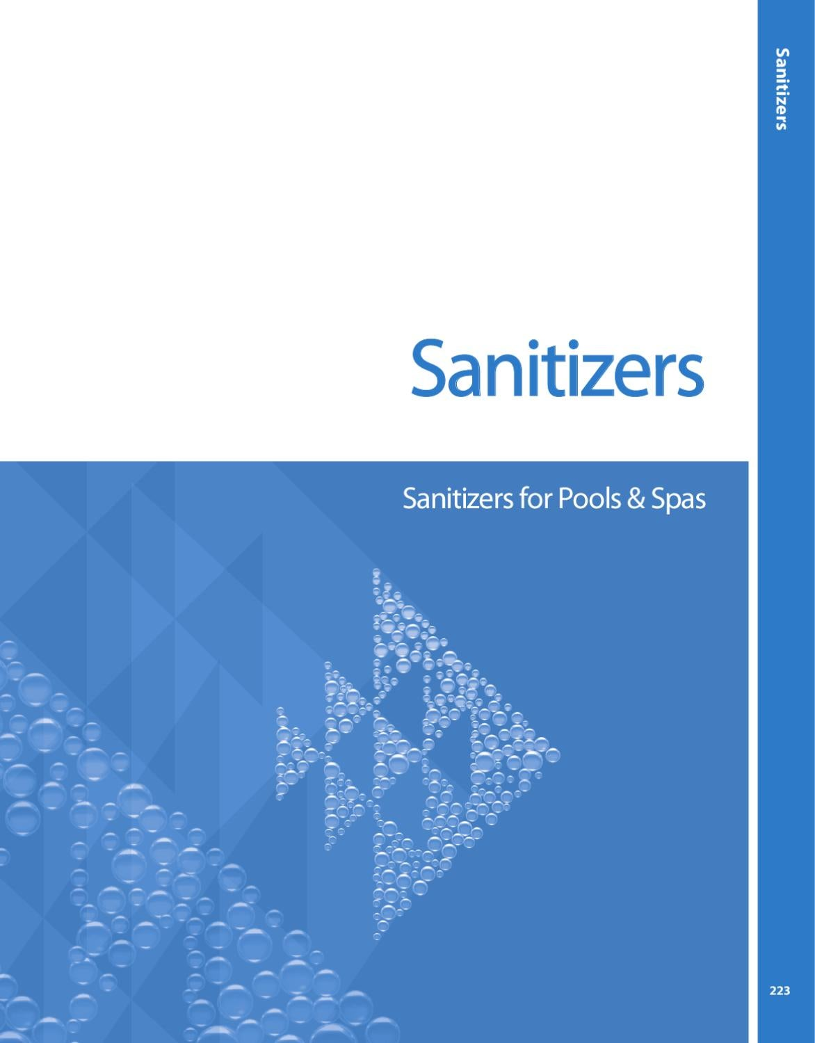 Pentair Sanitizers By Land Tech Web Designs Corp Issuu