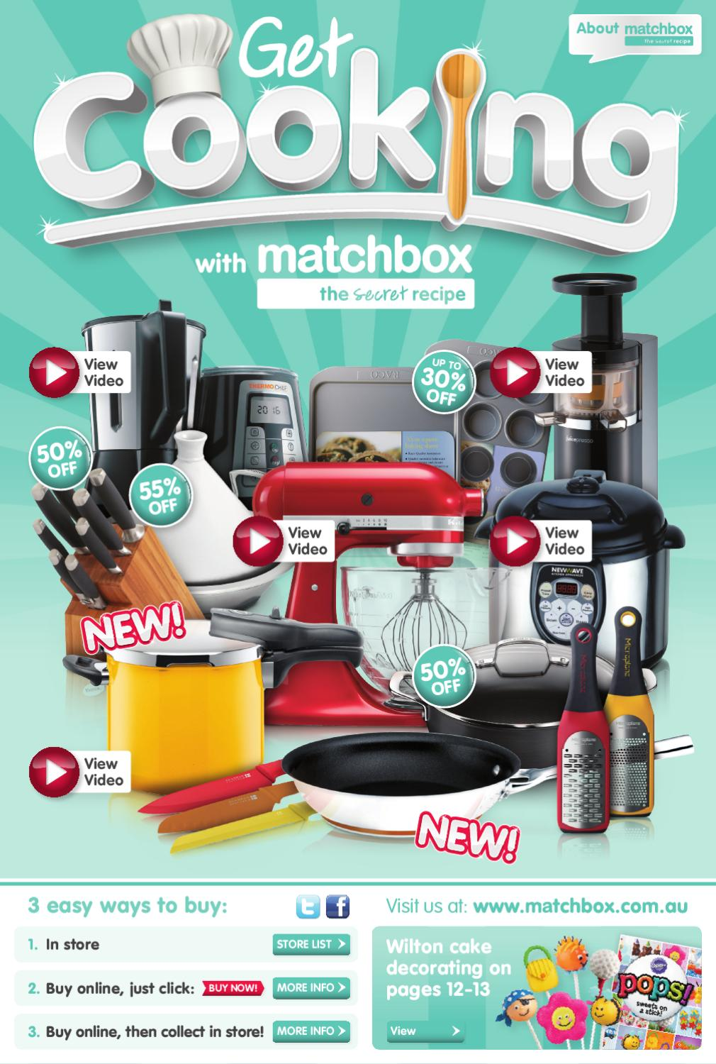 Get Cooking Sale with Matchbox by Matchbox - issuu