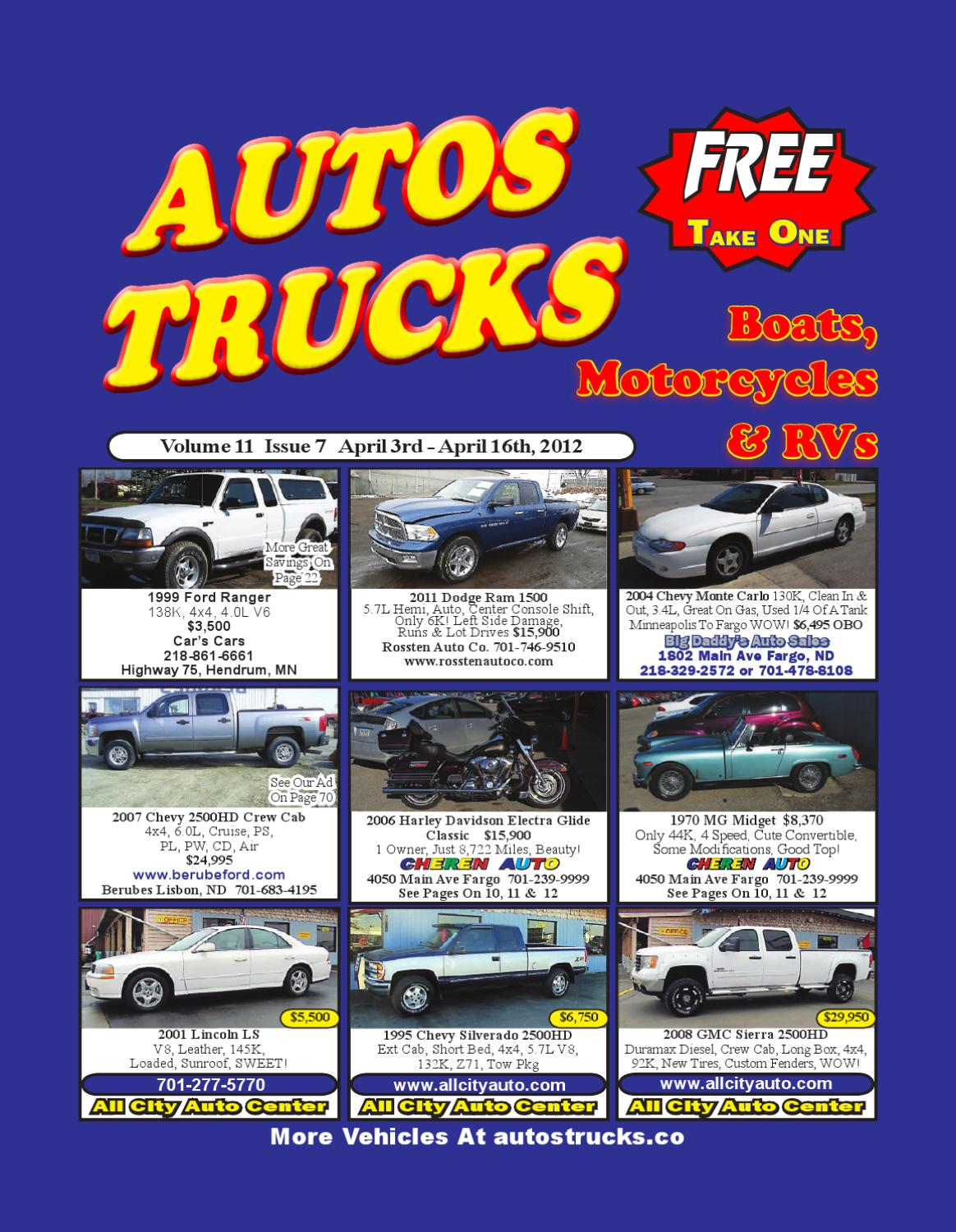 Autos Trucks Issue 7 Vol 11 By Issuu 1970 Dodge Truck Tow