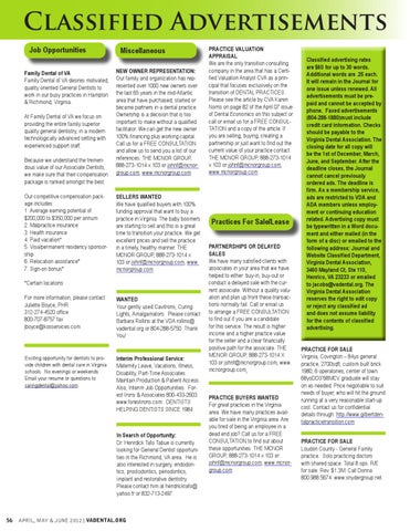 VDA Journal Vol 89 Number 2 - April, May & June 2012 by