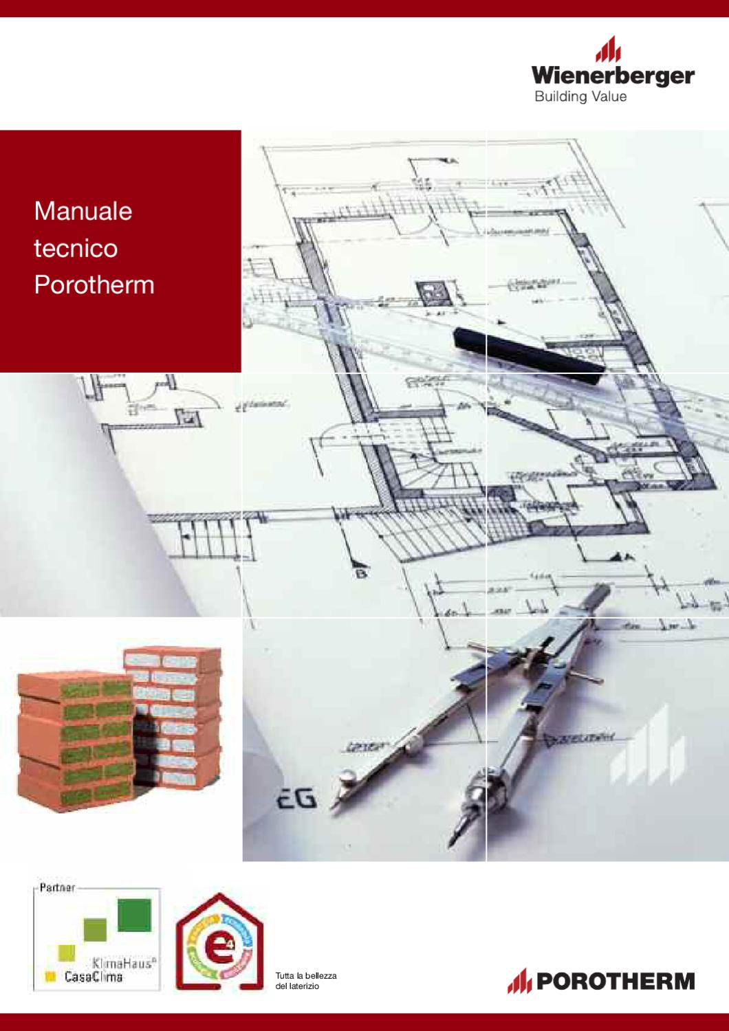 manuale tecnico porotherm by wienerberger ag issuu