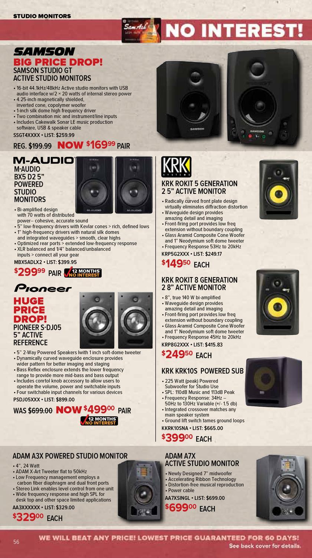 April 2012 Gear Guide Sam Ash Music by Sam Ash Music Corp  - issuu