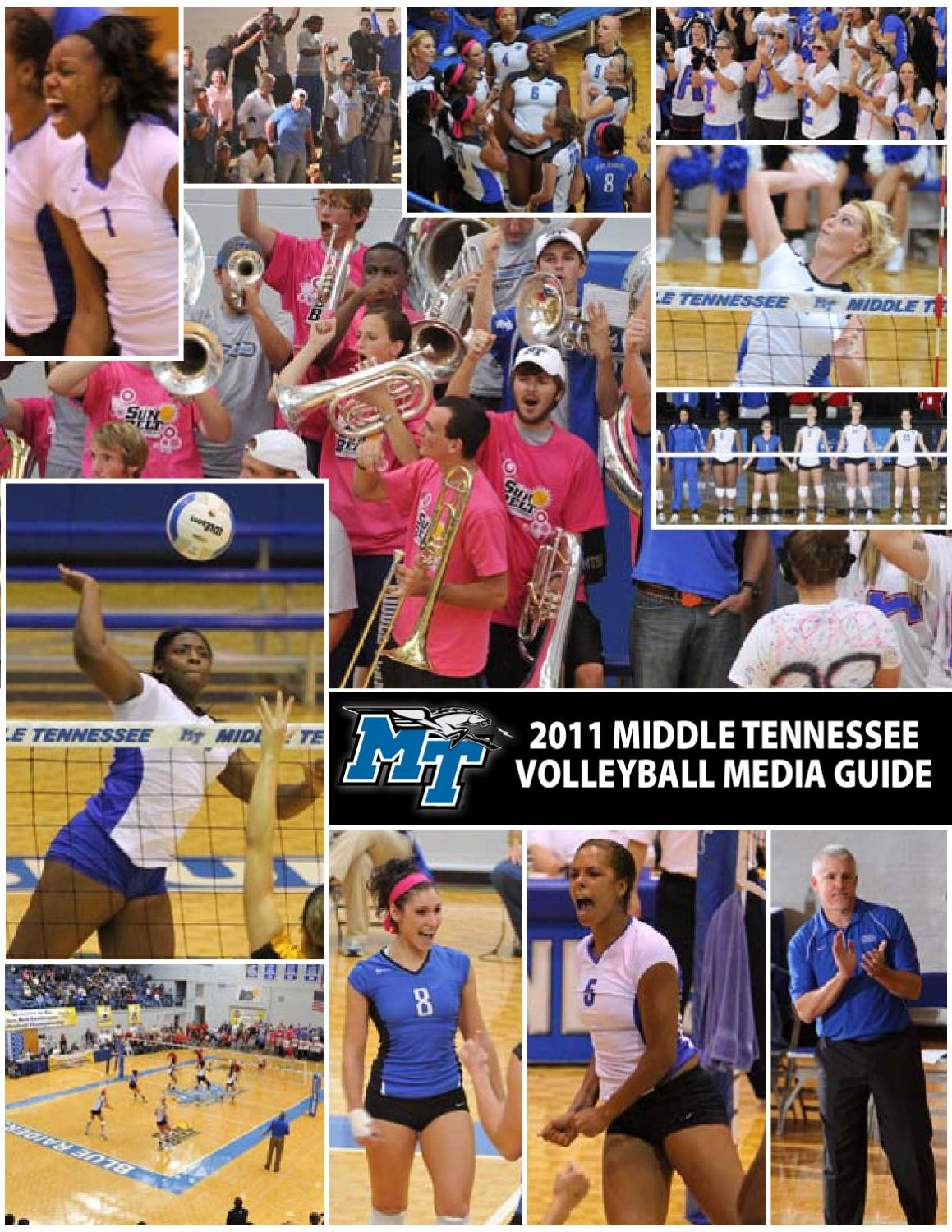 2011 Middle Tennessee Volleyball Media Guide By Clay Trainum Issuu