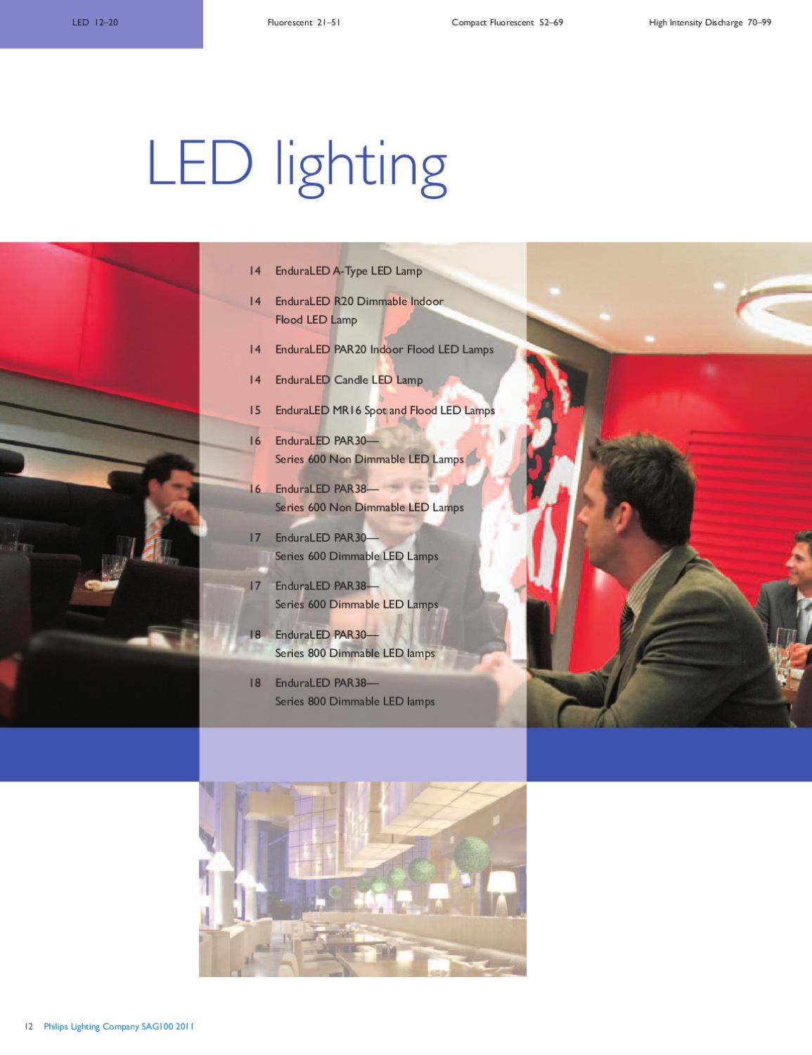 philips led lighting catalogue pdf