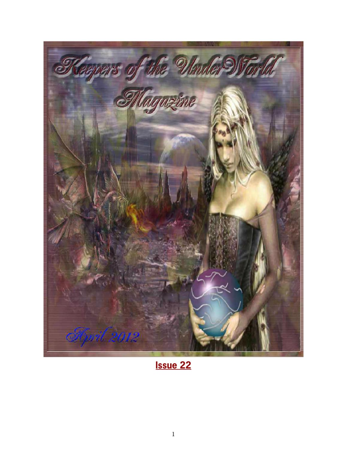 Keepers of the UnderWorld April 2012 by Keepers Of The