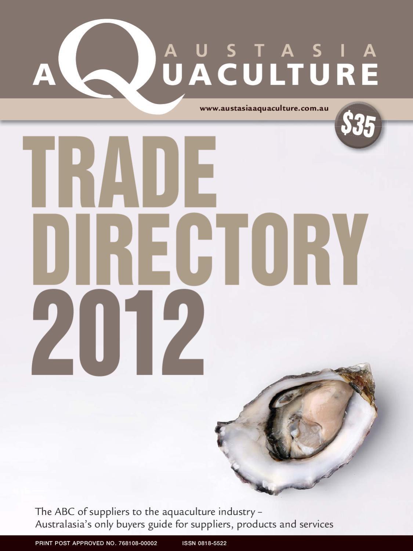 Trade Directory 2012 by Tim Walker - issuu