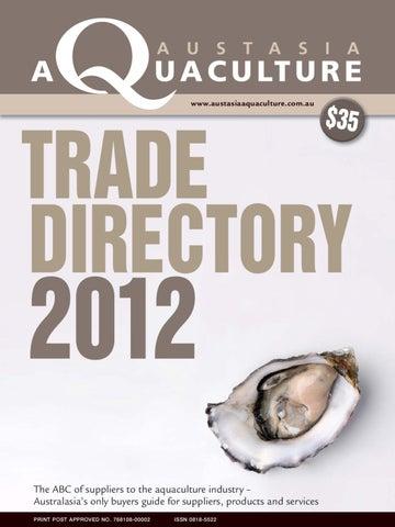 Trade Directory 2012 By Tim Walker