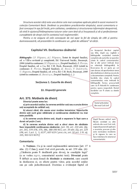 Codul civil divort