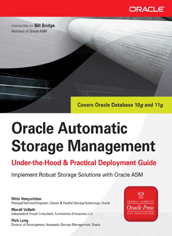 Oracle+Automatic+Storage+Management by kenny ganta - issuu