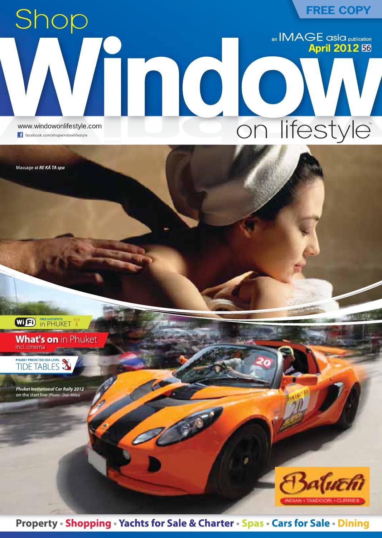 Shop Window on Lifestyle Phuket April 2012 by WINDOW on