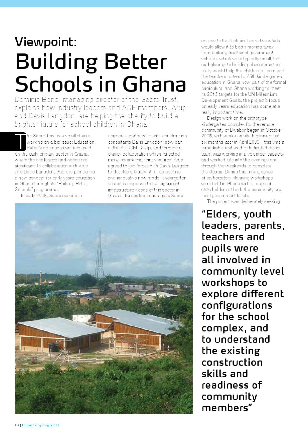 Building better schools in ghana by sabre charitable trust issuu malvernweather Image collections