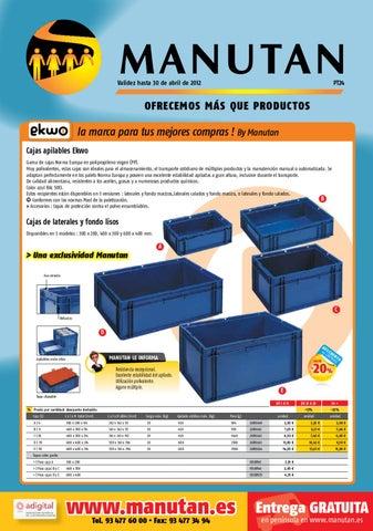 90b9397daf8 Promociones Abril by Manutan España - issuu