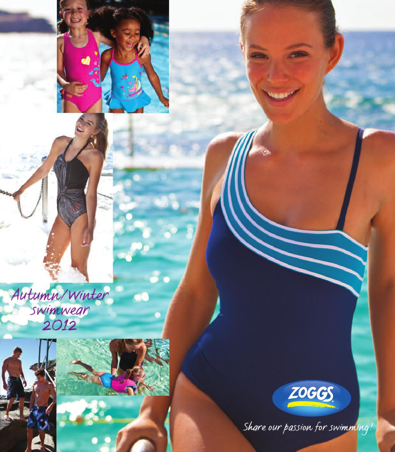 Zoggs Fishy Business Hip racer Blue//Multi