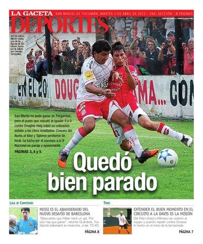 03-04-2012 DEPORTES by La Gaceta - issuu 5656f0cddc61b