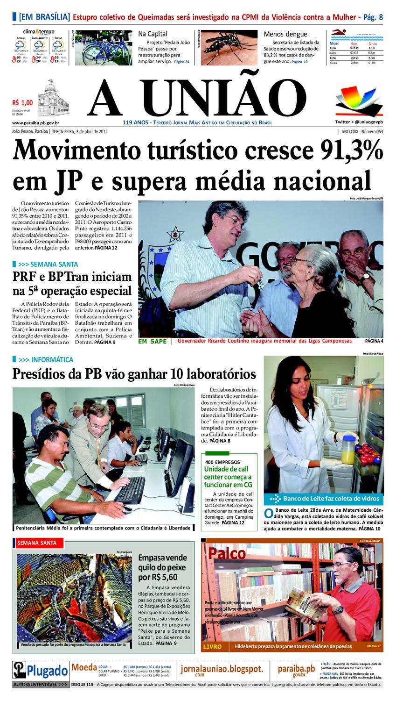 c11af1686 Jornal A UNIÃO by Jornal A União - issuu