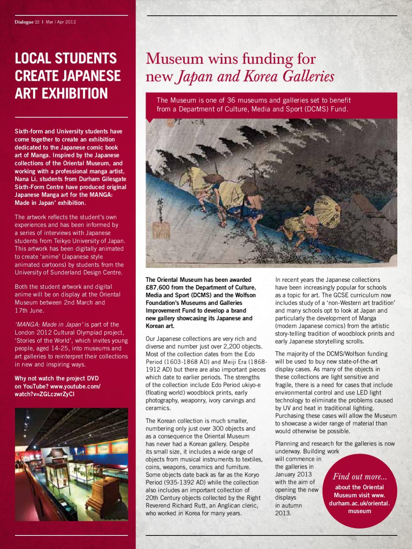 Dialogue Magazine - Issue 22 by Durham University - issuu