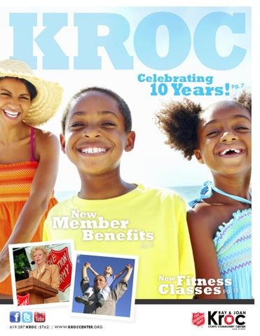 30accaa5ed858b The Salvation Army Kroc Center 2012 Program Guide. The Salvation Army Ray  ...
