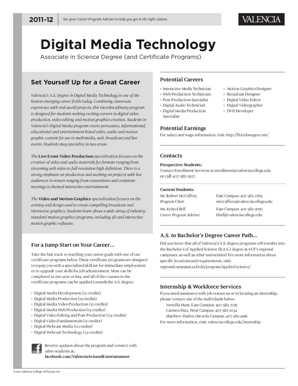 Digitalmediatech By Valencia College Issuu