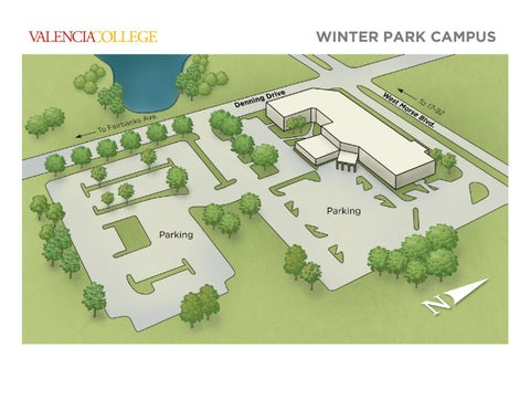 Valencia College Campus Map West by Valencia College   issuu
