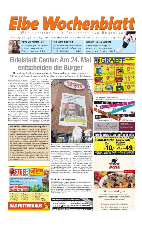 Eidelstedt KW14 by Elbe Wochenblatt Verlagsgesellschaft mbH & Co.KG ...