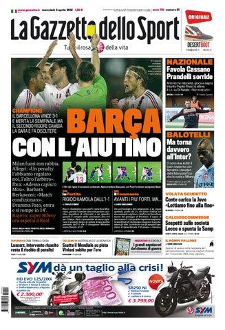 La gazzetta dello sport by alberto canale - issuu ec0f1e4636f3