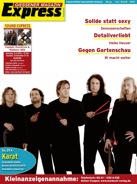Gießener Magazin Express 14/2012 by Ulrich Butterweck - issuu