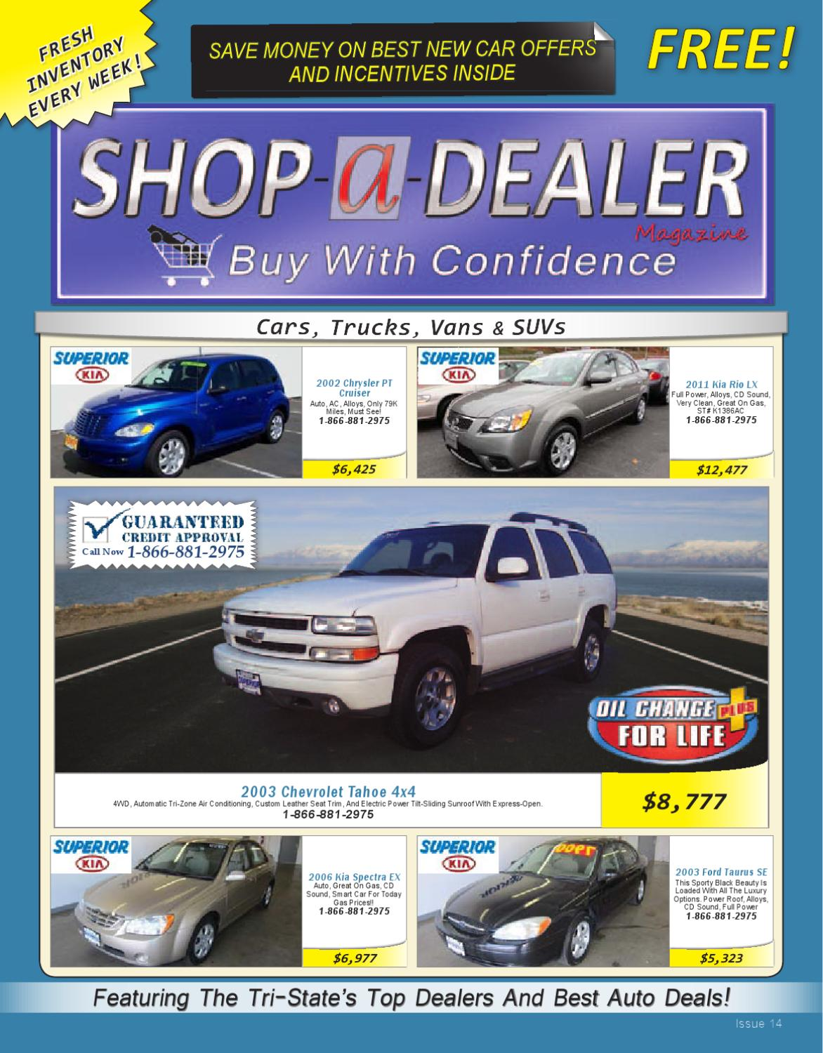 Shop A Dealer Issue 14-2012 by Shop A Dealer Magazine - issuu
