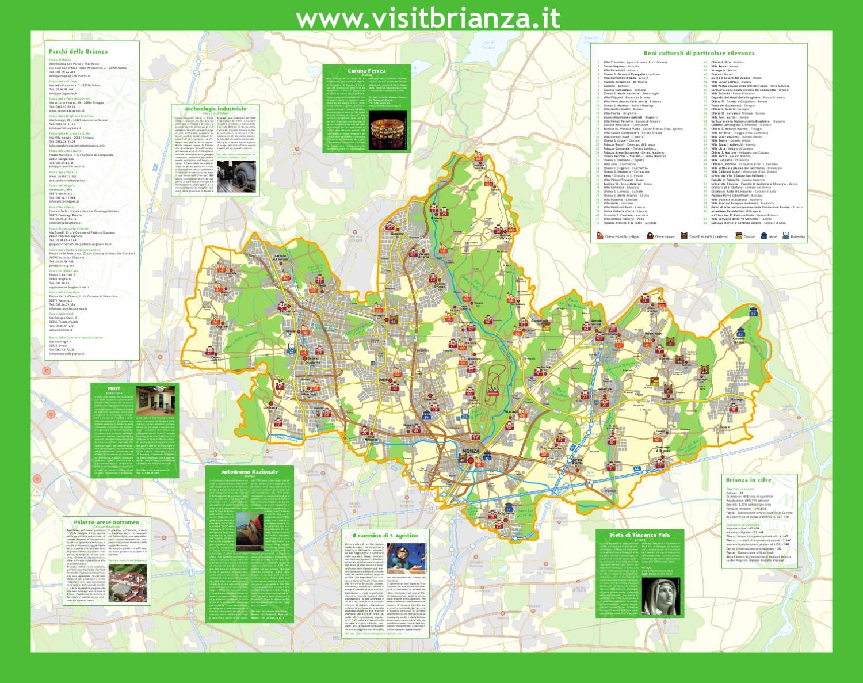 Cartina Geografica Della Brianza.Carta Turistica Provincia Di Monza E Della Brianza By Provincia Di Monza E Della Brianza Issuu