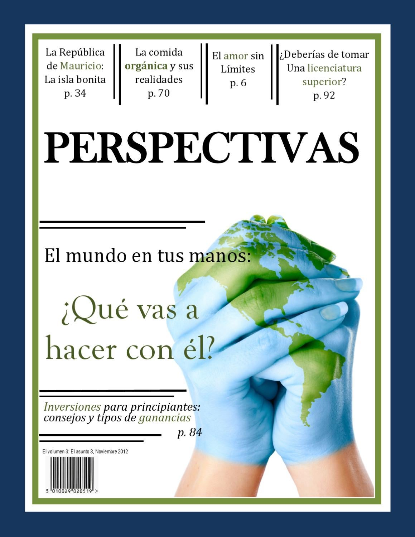 Perspectivas, Volume 3 Number 3 by Dr. John W. Schwieter - issuu