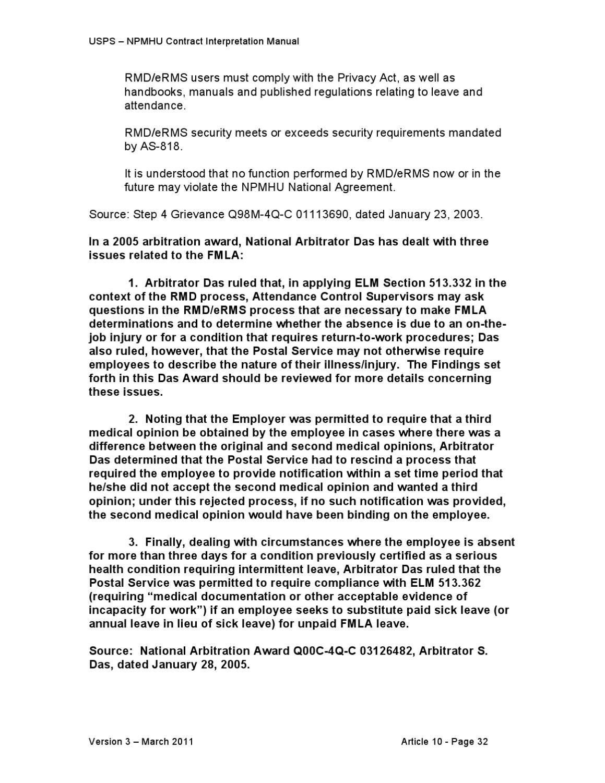 CONTRACT INTERPRETATION MANUAL (CIM) Version 3 by National