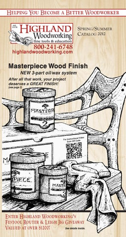 Highland Woodworking Spring Catalog 2012 By Highland Woodworking Issuu