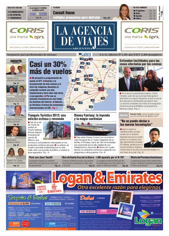 La Agencia de Viajes Argentina N° 1.201 by La Agencia de Viajes - issuu