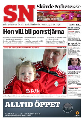 Skövde Nyheter 120405 by Skövde Nyheter - issuu d66bed8e58771