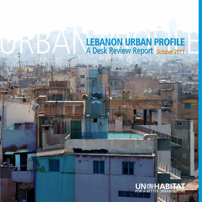 Electricite Du Liban Telephone lebanon urban profile - october 2011un-habitat - issuu