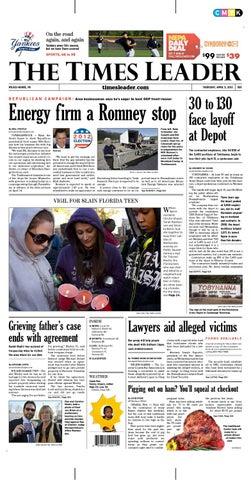 Times Leader 04-05-2011 by The Wilkes-Barre Publishing Company - issuu f0da05746