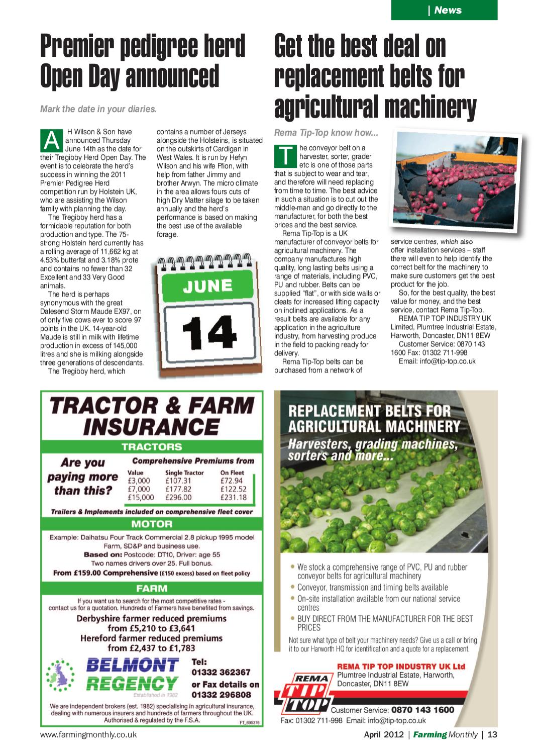 April 2012 Farming Monthly National by Farming Monthly Ltd