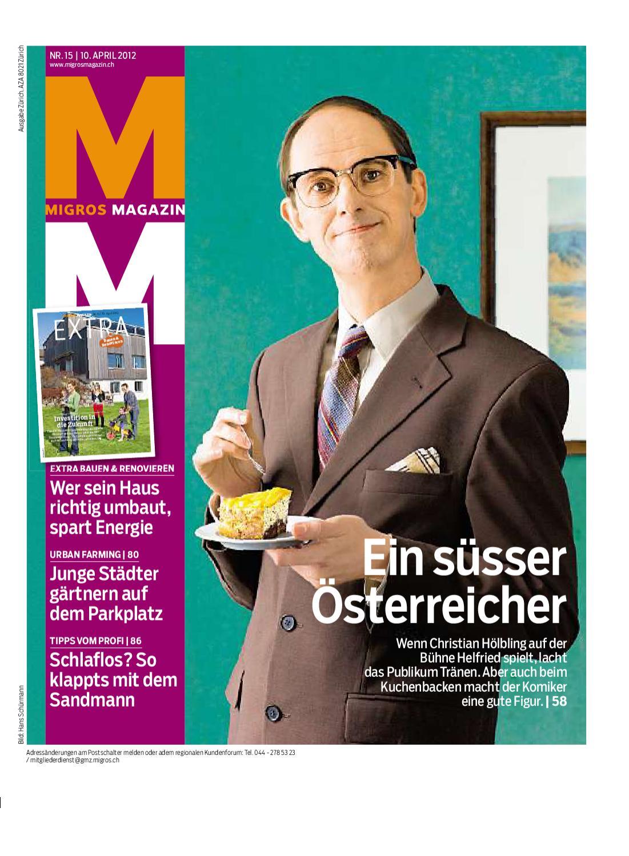 Migros Magazin 10 10 d ZH by Migros Genossenschafts Bund   issuu