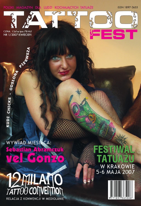 Tf 1 April 2007 By Tattoofest Magazine Issuu