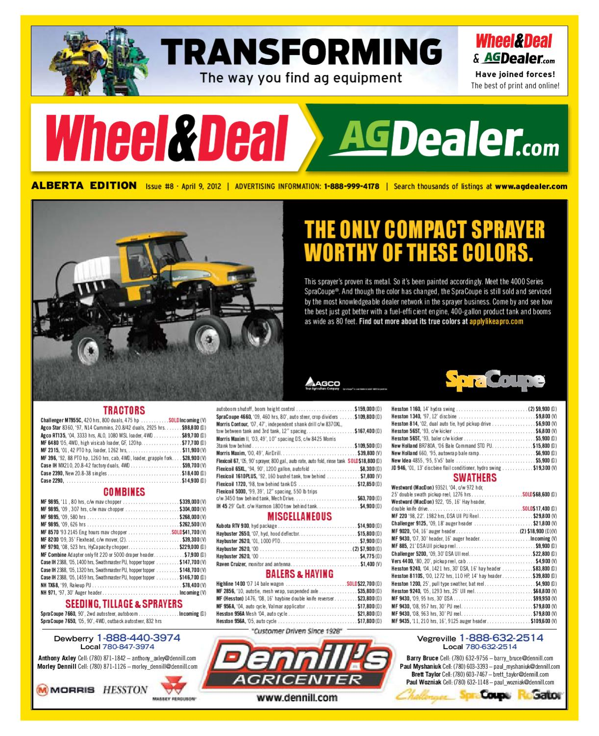 Wheel & Deal Alberta, April 9, 2012 by Farm Business Communications -  issuu