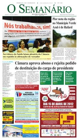 Jornal O Semanário Regional - Edição 1045 by Jornal O Semanário - issuu 75d5b992397